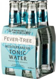 Fever-Tree Mediterranean Tonic PACK (4x200ml)