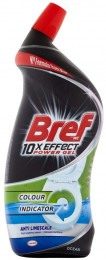 Bref 10xEffect Power Gel Anti Limescale WC čistič