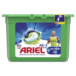 Ariel Active Sport All in 1 gelové kapsle 13ks