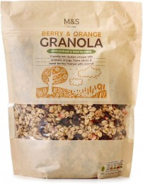 Marks & Spencer Berry & Orange Granola
