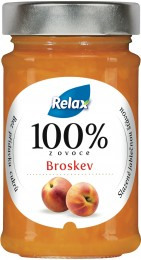 Relax 100% ovoce broskev