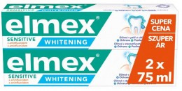 Elmex Sensitive Whitening Zubní pasta s aminfluoridem 2x75ml
