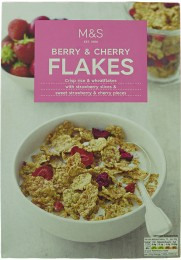 Marks & Spencer Berry & Cherry Flakes