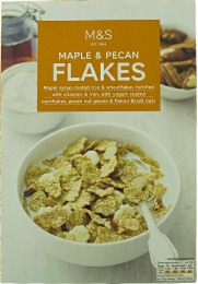 Marks & Spencer Maple & Pecan Flakes