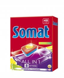Somat All in 1 Lemon & Lime tablety do myčky 48ks