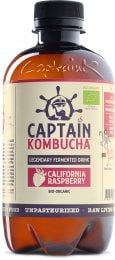 Captain Kombucha BIO Nápoj California Raspberry