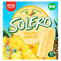Solero Smoothie Ananas multipack 6x55 ml