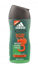 Adidas Men A3 Hair&Body Active Start sprchový gel